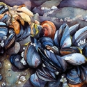 Blue Mussel Wave - 10
